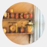Jars - Kitchen Shelves Sticker