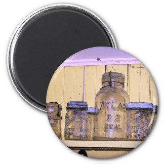 Jars Refrigerator Magnets