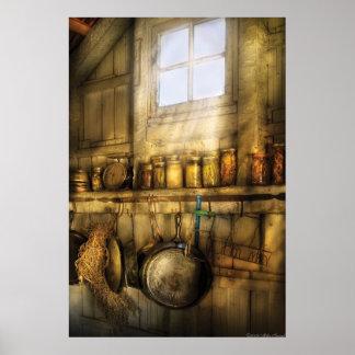 Jars - Winter Preserves Print