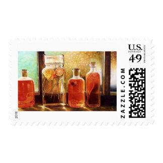 Jars: www.AriesArtist.com Postage Stamp