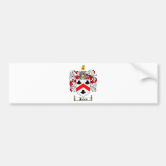 JARVIS FAMILY CREST -  JARVIS COAT OF ARMS BUMPER STICKER