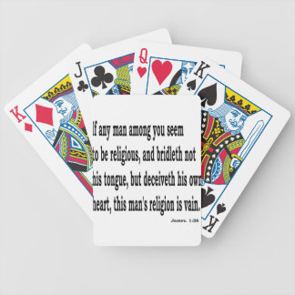 Jas. 1:26,w bicycle playing cards