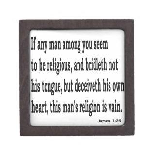 Jas. 1:26,w jewelry box