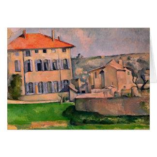 Jas de Bouffan, 1885-87 Tarjeta De Felicitación