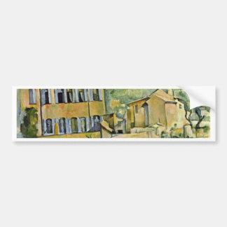 Jas De Bouffan By Paul Cézanne (Best Quality) Car Bumper Sticker