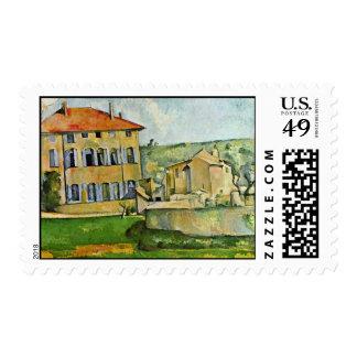 Jas De Bouffan By Paul Cézanne (la mejor calidad) Sellos