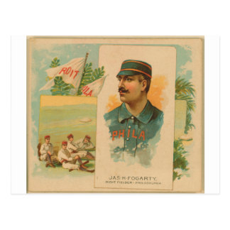 Jas. H. Fogarty, Philadelphia Quakers Postcard