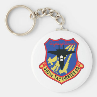 JASDF 303SQ Fighter Squadron Patch Keychain