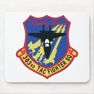 JASDF 303SQ Fighter Squadron Patch Mouse Pad