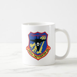 JASDF 303SQ Fighter Squadron Patch Classic White Coffee Mug