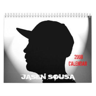 Jasen Sousa 2008 Calendar