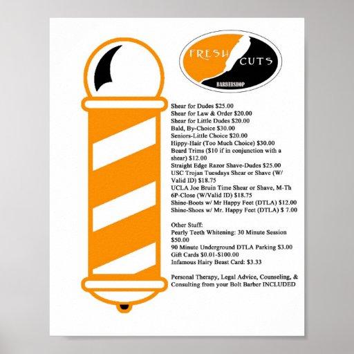 Barber Shop Posters & Prints