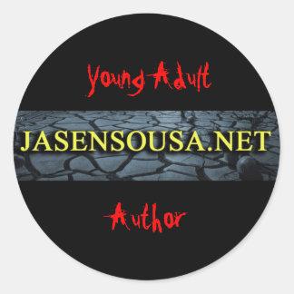 Jasen Sousa.Net Round Sticker