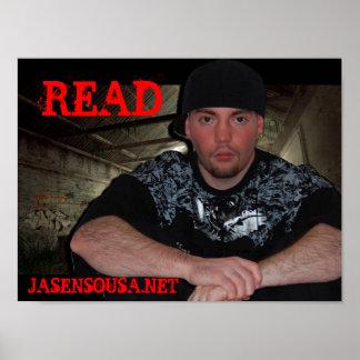"Jasen Sousa ""Read"" Poster"
