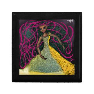 Jasmin in Saffron Jewelry Box