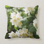 Jasmin tree in garden pillow