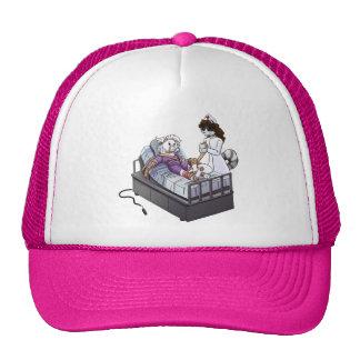 Jasmine and Quinn Nurse Nurse Hats