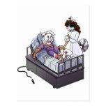 Jasmine and Quinn: Nurse!  Nurse! Post Card