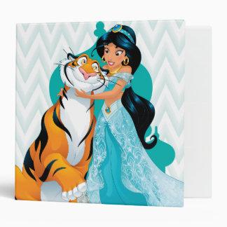 Jasmine and Rajah 3 Ring Binder