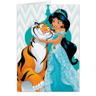 Jasmine and Rajah Card