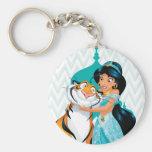 Jasmine and Rajah Key Chains