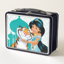 Jasmine and Rajah Metal Lunch Box