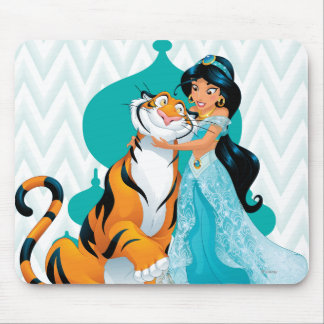 Jasmine and Rajah Mouse Pad