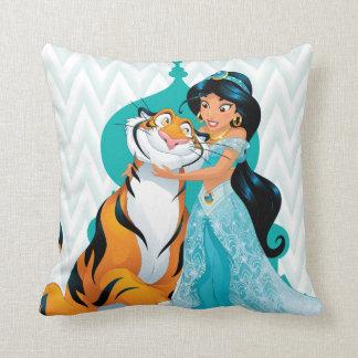 Jasmine and Rajah Pillows