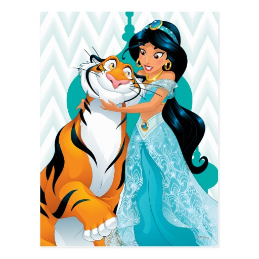 Jasmine and Rajah Postcards