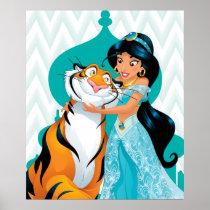 Jasmine and Rajah Poster