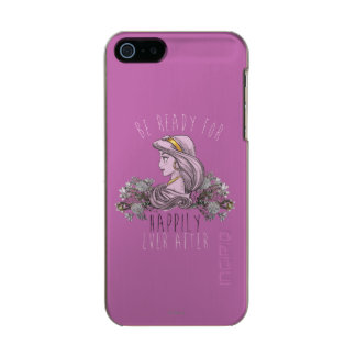 Jasmine - Be Ready For Happily Ever After Metallic iPhone SE/5/5s Case