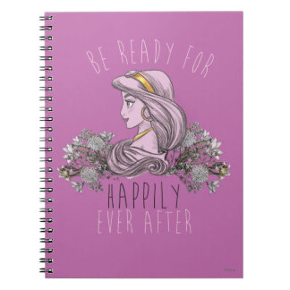 Jasmine - Be Ready For Happily Ever After Notebook