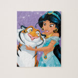 "Jasmine | Besties Rule Jigsaw Puzzle<br><div class=""desc"">Disney Princesses are empowered heroines who dream,  create and celebrate magical adventures! They help inspire young girls to see how brave,  strong and fearless they are. These princesses focus on their friendships and embracing adventure.</div>"