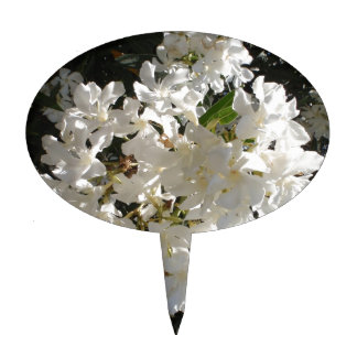 Jasmine Blossom Cake Picks