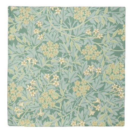 Jasmine by William Morris Duvet Cover