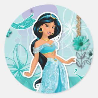Jasmine - Courageous Classic Round Sticker