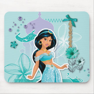 Jasmine - Courageous Mouse Pad