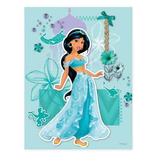 Jasmine - Courageous Postcard