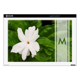 Jasmine Flower Decal For Laptop