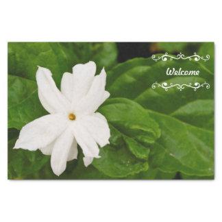 """Jasmine Flower 10"""" X 15"""" Tissue Paper"""