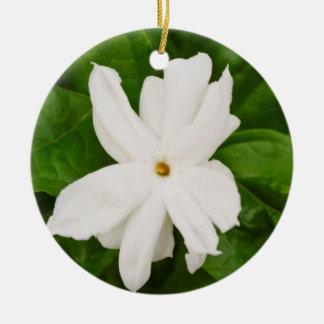 Jasmine Flower Christmas Ornaments