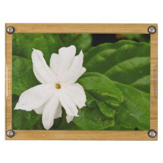 Jasmine Flower Rectangular Cheese Board