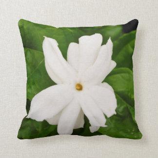 Jasmine Flower Throw Pillow