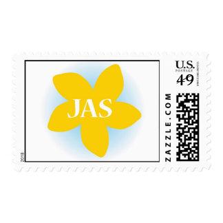 Jasmine Flower Stamp