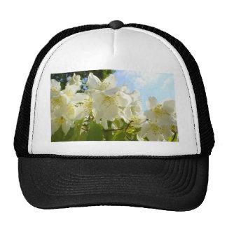 Jasmine Flowers Mesh Hats