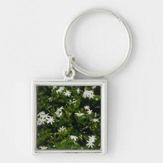 Jasmine Flowers Keychain