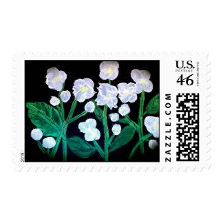 Jasmine flowers stamp