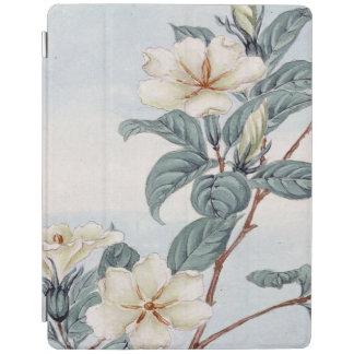 Jasmine Flowers Vintage Japanese Art iPad Cover