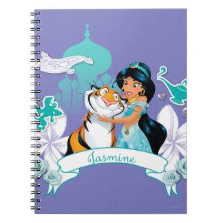 Jasmine - Gentle and Graceful Notebook