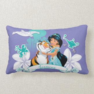 Jasmine - Gentle and Graceful Throw Pillow